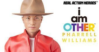 Pharrell Williams RAH (Get Lucky) – Action Figure 1:6 Medicom Toy