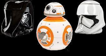 Potes de Cookies Star Wars VII: BB-8, Kylo Ren e Phasma