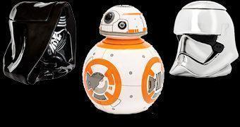 Potes de Cookies Star Wars VII: BB-8, Kylo Ren e Phasma