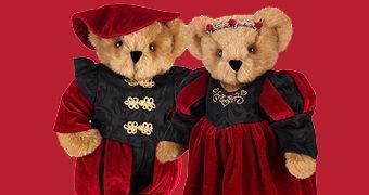 Dia dos Namorados: Romeu e Julieta Casal Romântico de Ursinhos de Pelúcia