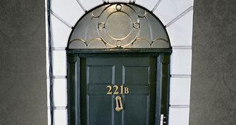 Diorama da Série Sherlock: 221B Baker Street