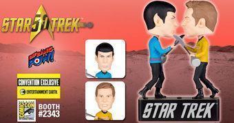 Kirk vs. Spock Bobble Heads – Luta Vulcana do Episódio Amok Time na Série Original Star Trek