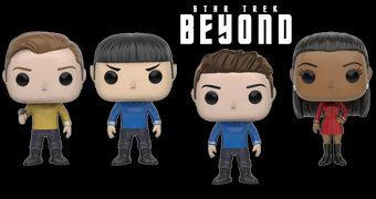 Star Trek Beyond Pop! – Bonecos Funko do Filme Star Trek: Sem Fronteiras