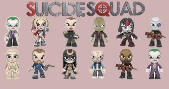 Suicide Squad Mystery Minis – Mini-Figuras Funko Blind-Box do Esquadrão Suicida