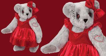 Ursinha de Pelúcia Zumbi – Zombie Sweetheart Bear