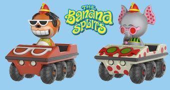 Banana Splits Dorbz – Bonecos Funko Hanna-Barbera