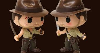 "Boneco Pop! Indiana Jones Adventures ""Temple of Doom"""