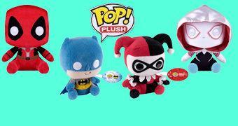 Pop! Plush, os Novos Bonecos de Pelúcia da Funko