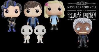 O Lar das Crianças Peculiares Pop! – Bonecos do Novo Filme de Tim Burton