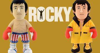 Bonecos de Pelúcia Rocky Balboa (Sylvester Stallone 70 Anos)