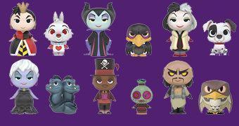Mystery Minis: Vilões Disney – Mini-Figuras Funko (Blind-Box)