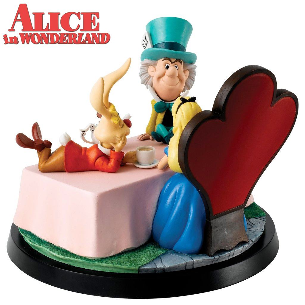 Estatua-Diorama-Alice-in-Wonderland-A-Moment-In-Time-Numbered-Statue-03