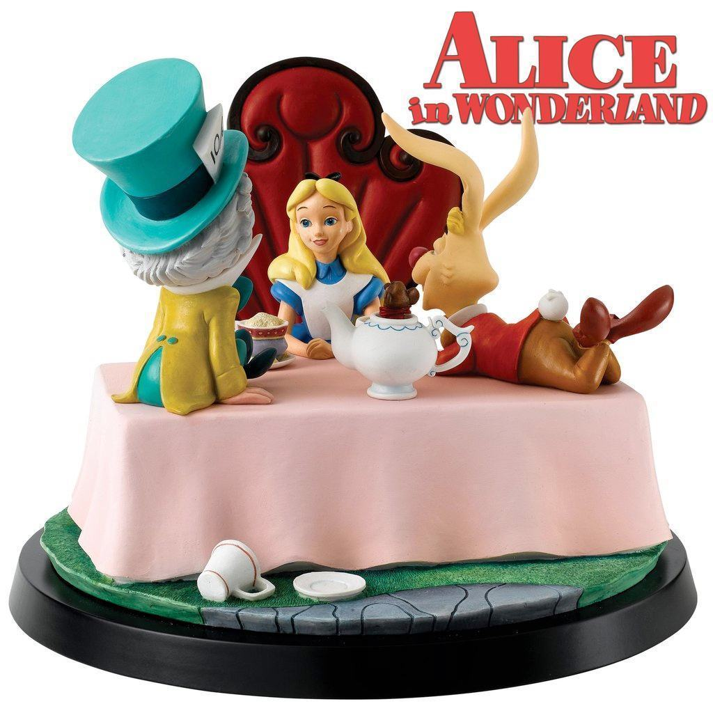 Estatua-Diorama-Alice-in-Wonderland-A-Moment-In-Time-Numbered-Statue-04