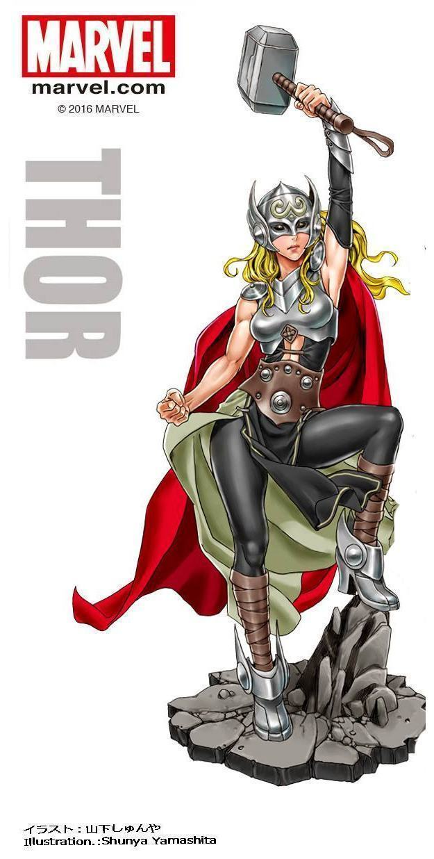 Female-Thor-Marvel-Bishoujo-Statue-06