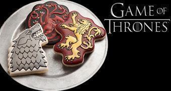 Cortadores de Cookies Game of Thrones: Brasões das Casas Nobres