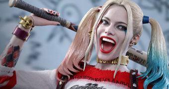Harley Quinn (Margot Robbie) em Esquadrão Suicida – Action Figure Perfeita 1:6 Hot Toys