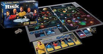 Jogo Risk Star Trek 50 Anos!