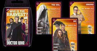 Jogo Super Trunfo Doctor Who: Quem é o mais Corajoso?