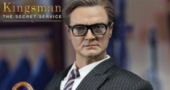 Colin Firth como Galahad em Kingsman: Serviço Secreto – Action Figure 1:6 PopToys