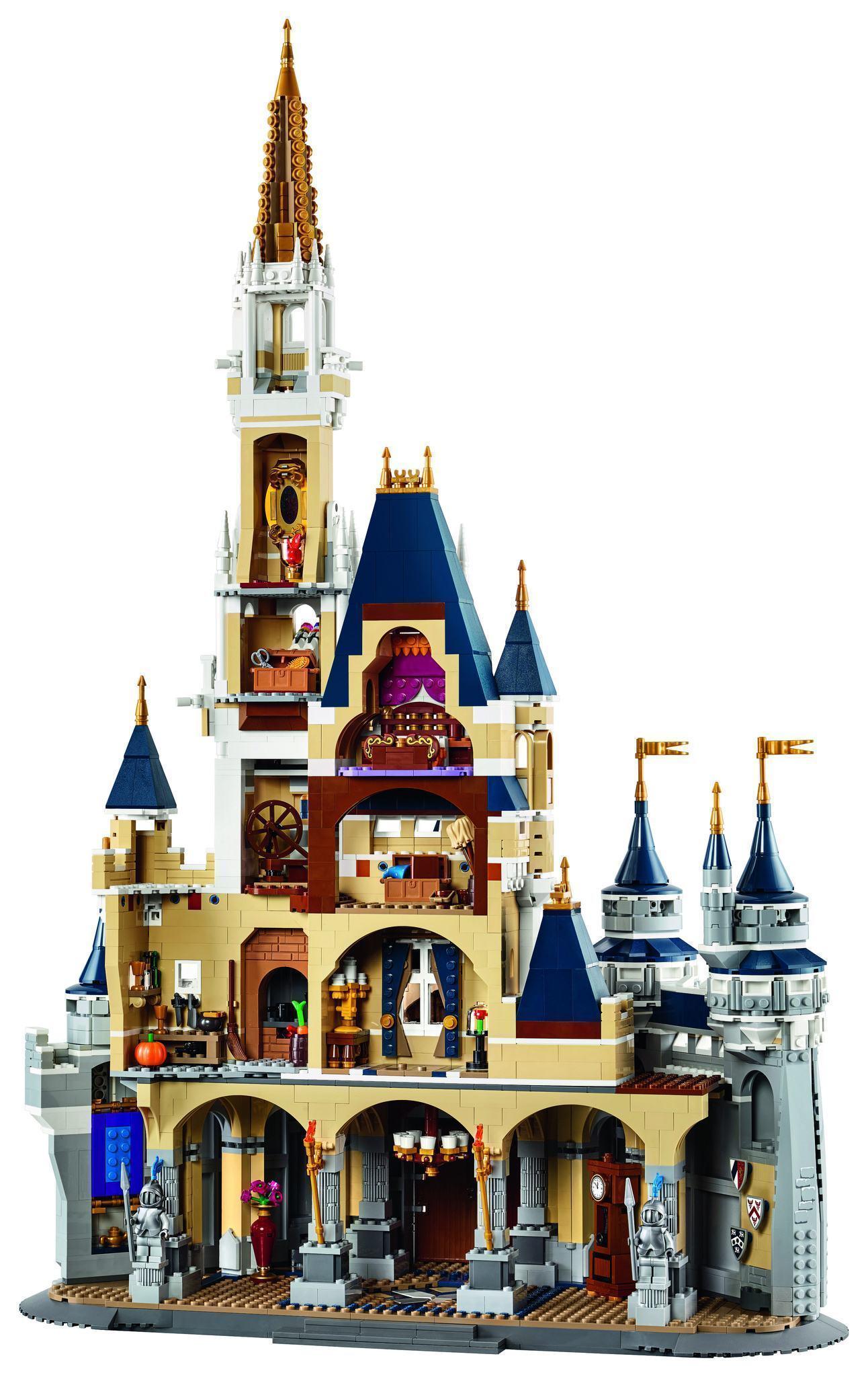 LEGO-The-Disney-Castle-Cinderella-01b