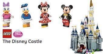 Castelo da Cinderella LEGO com mais de 4.000 Peças!