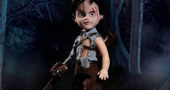 Living Dead Dolls Apresenta: Ash em Evil Dead II (Uma Noite Alucinante 2)