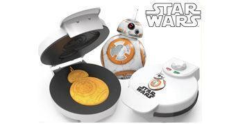 Máquina de Waffles Star Wars BB-8