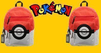 Mochila Pokémon Pokebola