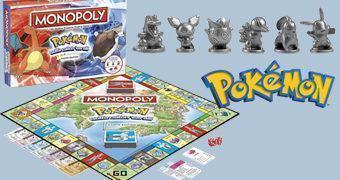 Pokémon Monopoly em 2 Versões: Kanto Edition e Johto Edition