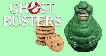 Pote de Cookies Ghostbusters: Fantasma Geleia (Slimer)