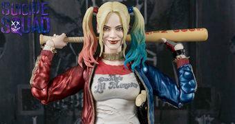Action Figure S.H. Figuarts Harley Quinn em Esquadrão Suicida