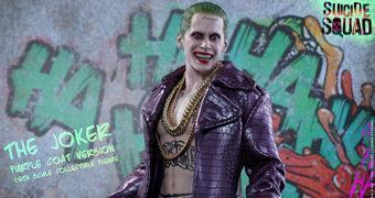 The Joker (Jared Leto) em Esquadrão Suicida – Action Figure Perfeita 1:6 Hot Toys