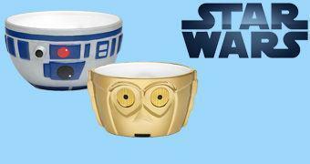 Tigelas de Cerâmica Star Wars R2-D2 & C-3PO