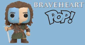 Braveheart William Wallace Pop! – Boneco de Mel Gibson em Coração Valente