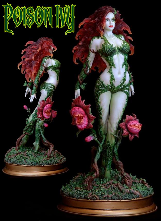 Estatua-Poison-Ivy-Fantasy-Figure-Gallery-DC-Comics-Collection-Resin-Statue-Variant-01