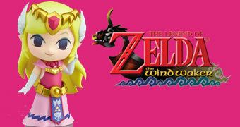 Boneca Nendoroid Princesa Zelda – The Legend of Zelda: The Wind Waker