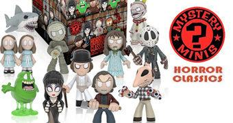 Mystery Minis Horror Série 3 – Mini-Figuras Funko Blind-Box Clássicos do Terror
