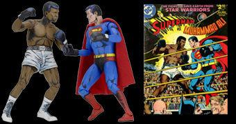 "Superman vs Muhammad Ali – Action Figures 7"" Neca"