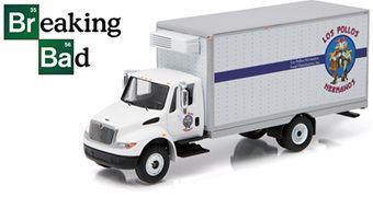 Caminhão Los Pollos Hermanos International Durastar Box Truck 1:64 (Breaking Bad)