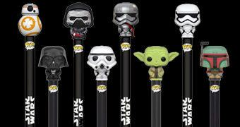 Canetas Funko Pop! Pen Star Wars