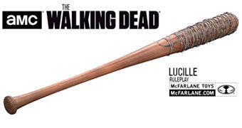 Réplica do Bastão Lucille Usado por Negan na Série The Walking Dead!