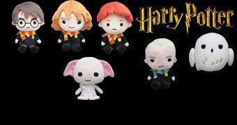 Bonecos de Pelúcia Harry Potter Beans da Takara Tomy