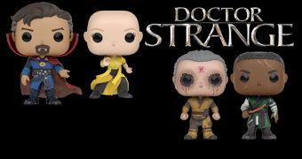 Doctor Strange Pop! Bonecos do Filme Marvel