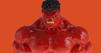 Cofre Hulk Vermelho