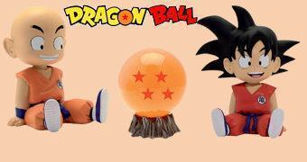 Cofres Dragon Ball: Kid Goku, Kid Krillin e Four Star Dragon Ball