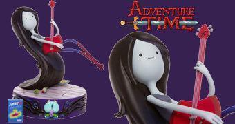 Estátua Marceline, a Rainha Vampira (Hora de Aventura)