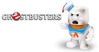 Boneco Sr. Cabeça de Batata Monstro de Marshmallow Torrado (Ghostbusters)