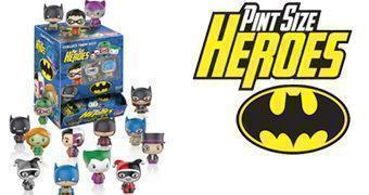 Pint Size Heroes, a Nova Linha de Bonequinhos Funko com Personagens da DC Comics (Blind-Box)