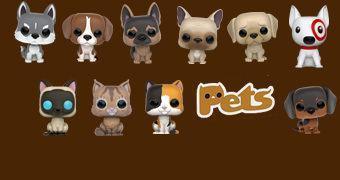 Cães e Gatos de Estimação Pop! Pets Funko