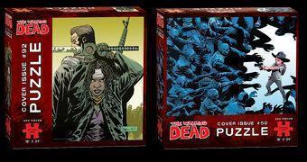 Quebra-Cabeças The Walking Dead: Capas dos Quadrinhos